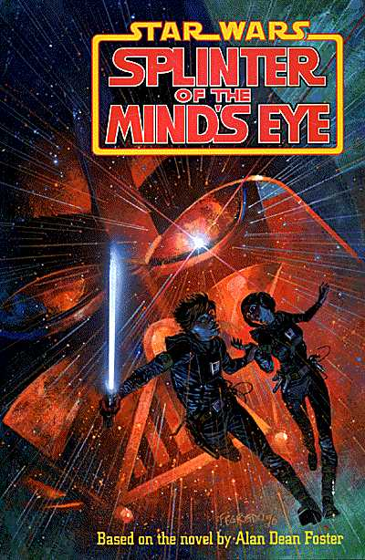 Star Wars: Splinter of the Mind's Eye, Story: Terry Austin Pencils: Chris Sprouse Inks: Terry Austin Letters: Steve Dutro Colors: James Sinclair Design: Scott Tice Cover Art: Duncan Fegredo. Star Wars created by George Lucas.