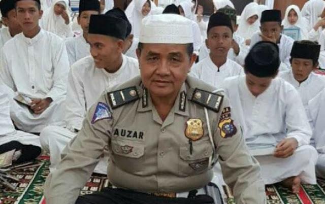 Polisi Muazin Ini Meninggal Usai Ditabrak Mobil Teroris Usai Sholat Dhuha, Netizen: Insya Allah Syahid