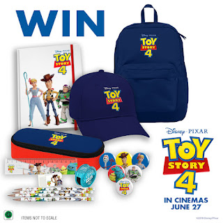 Win a Toy Story 4 prize pack