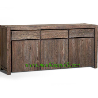 Reclaimed sideboard modern ~ Recycled Teak Furniture