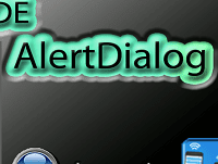 AIDE - AlertDialog-simples
