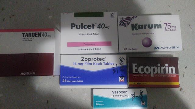 Kalp Hastalarına verilen ilaçlar