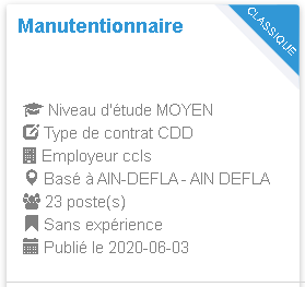 CCLS Manutentionnaire