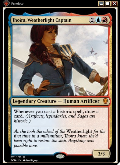 Magic the Gathering Adventures: Dominaria Brawl Deck: Blue Red