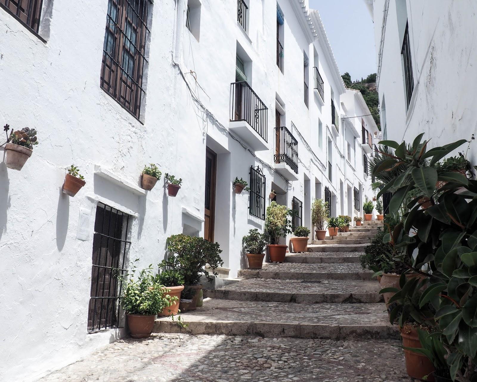 Frigiliana, Andalucia, Spain, Espanja, Costa del Sol, Aurinkorannikko