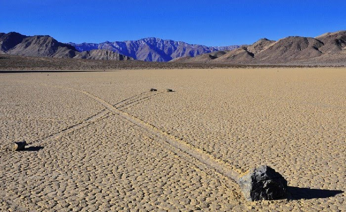7. Racetrack Playa, California, USA - Top 10 Enigmatic Places