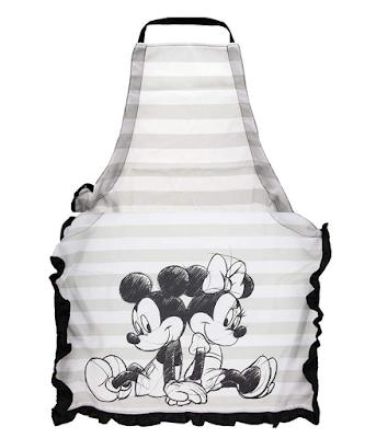 Disney Mickey and Minnie Ruffled Kitchen Apron