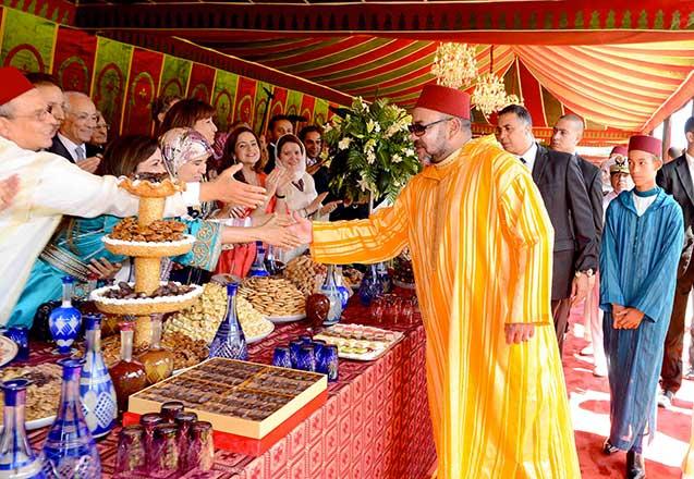 حالة استنفار بمدينة أكادير ، و استعدادات مكثفة لاستقبال جلالته .