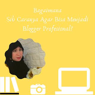 Cara Jadi Blogger Profesional