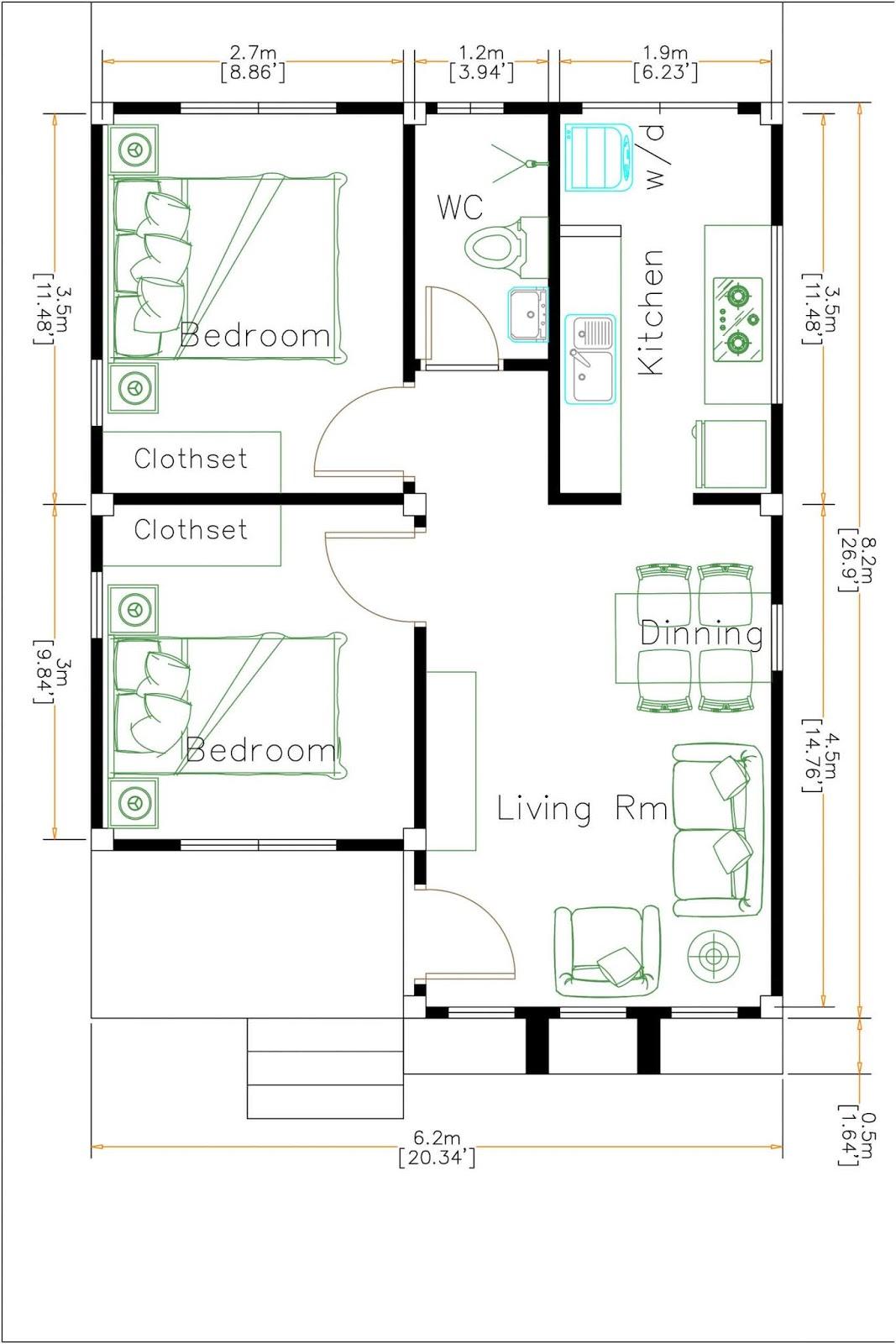 30 Conception De Petite Maison Plan Architecture
