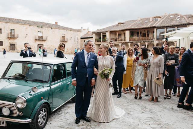 boda pedraza de natura vestido novia sole alonso