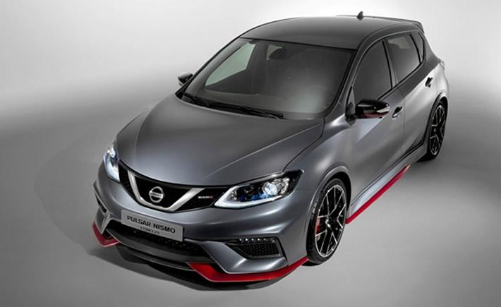Nissan presentó en el Salón del Automóvil de Paris el concepto Pulsar NISMO. (Foto: Cortesía Nissan)