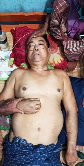 কালিগঞ্জে সড়ক দূর্ঘটনায় এক ব্যবসায়ীর মৃত্যু