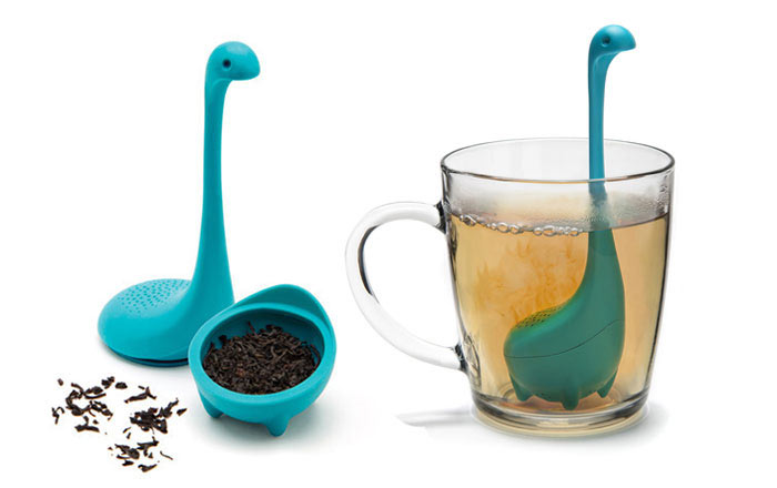 El Infusor de Té Bebé Monstruo del Lago Ness es la manera más linda para preparar el té