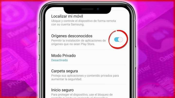 Cómo activar Orígenes Desconocidos en todas las versiones de Android