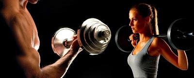 Hora para ir al gimnasio para ganar masa muscular