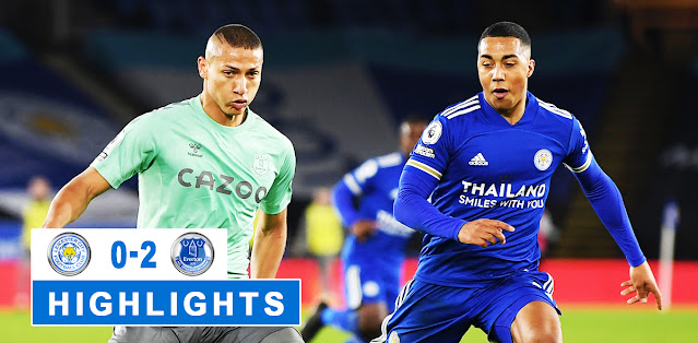 Leicester City vs Everton – Highlights