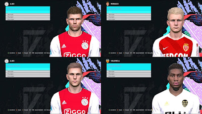 PES 2017 Konami Faces Update V3 by Mirukuu
