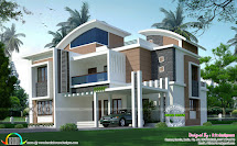 5 Bedroom 3212 Sq-ft House Architecture - Kerala Home
