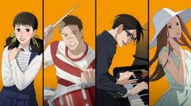 Anime Drama Romance Terbaik - Sakamichi no Apollon