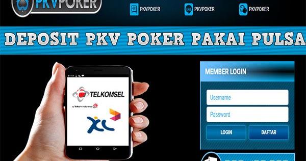 Pkv poker pulsa