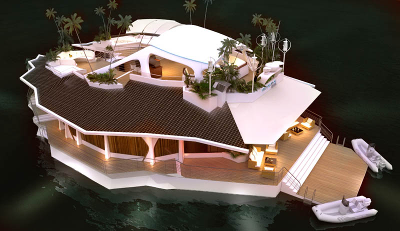 Orsos Islands - a luxury floating island