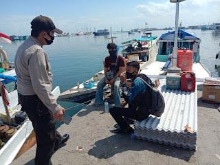 Operasi Yustisi, Polres Pelabuhan Lakukan Pendisiplinan Protokol Kesehatan di Paotere