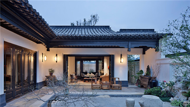Want to create a Chinese cottage garden landscape design