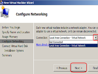 Create Virtual Server in Windows Server 2008 R2