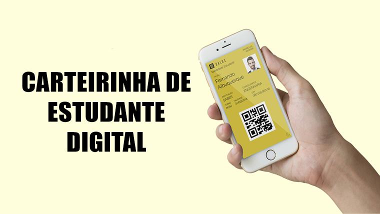 Carteirinha de estudante digital - Peça já a sua!