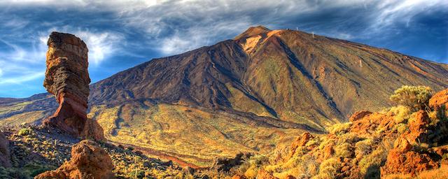 Parque Nacional del Teide nas Ilhas Canárias