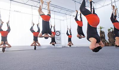 yoga aereo, aeroyoga, yoga aerea, beneficios, salud, ejercicio, tendencias, wellness, deporte, gym, acro, acrobatico, yoga, pilates, fitness, formacion, certificacion, yoga alliance