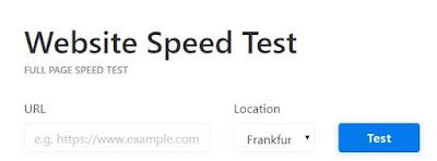 Keycdn website speed test