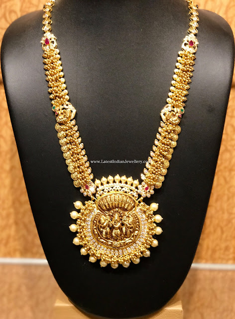 Kasu and Muvvala Necklace