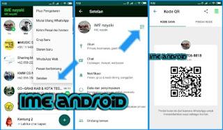 cara membagikan Barcode whatsapp sendiri