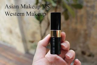 asian makeup vs western makeup