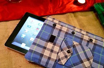 Como hacer una Funda de Ipod  con una Camisa