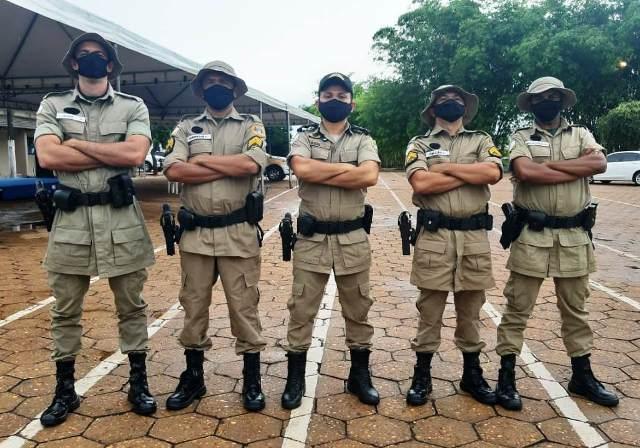 DESTAQUE DA SEMANA: Comando do 9º Batalhão da PM participa de formatura da Patrulha Rural em Araguaína