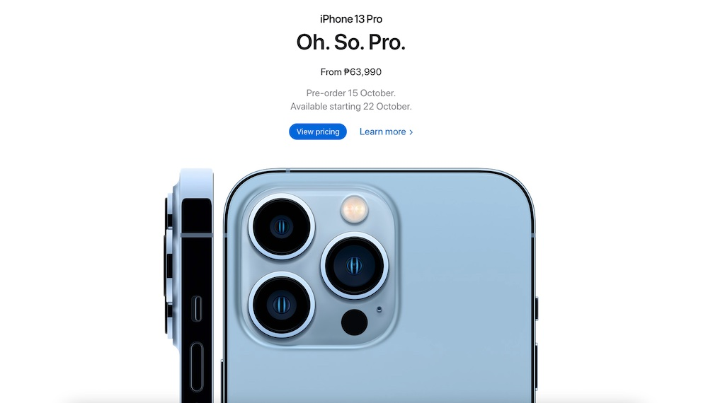 iPhone 13 Series Pre-order and Availability