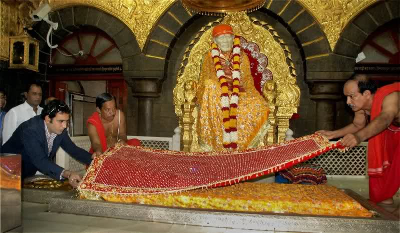 Live Darshan of Shirdi Sai Baba~~~~~