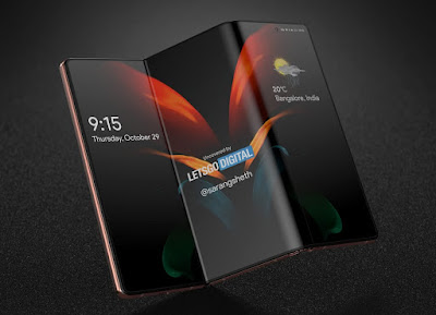 Coming new folding phone Samsung Galaxy Z Fold 3, price leaked with pictures