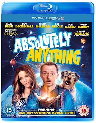 ABSOLUTELY ANYTHING simon pegg