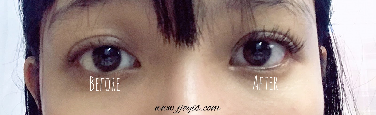 maybelline great lash review very black before after swatch