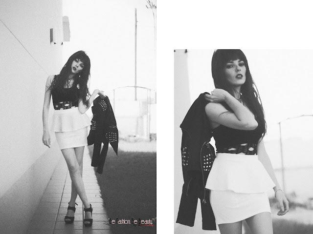 Blanco y negro, una apuesta segura a la hora de vestir.