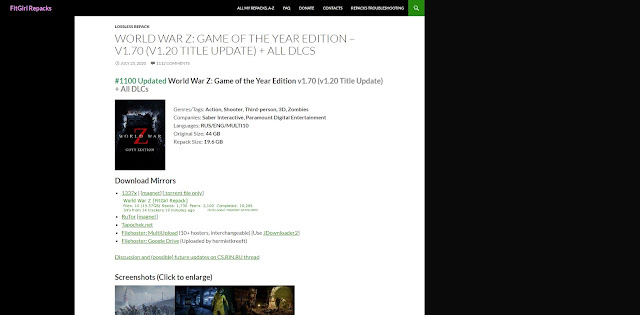 Website Fitgirl Repacks