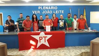 Suplente de vereador, Nelson Junior é eleito novo presidente do PT em Oeiras
