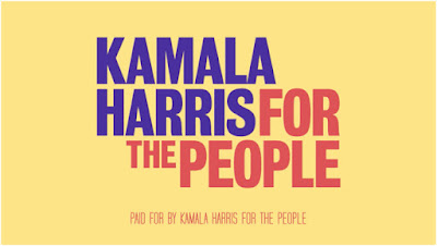 Is the Kamala Harris logo  the worst political graphic design job in a generation ?