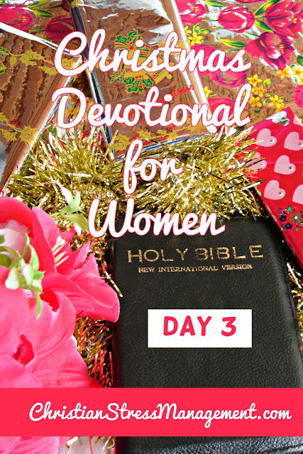 Christmas Devotional for Women Day 3