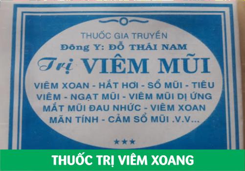 THUỐC VIÊM XOANG