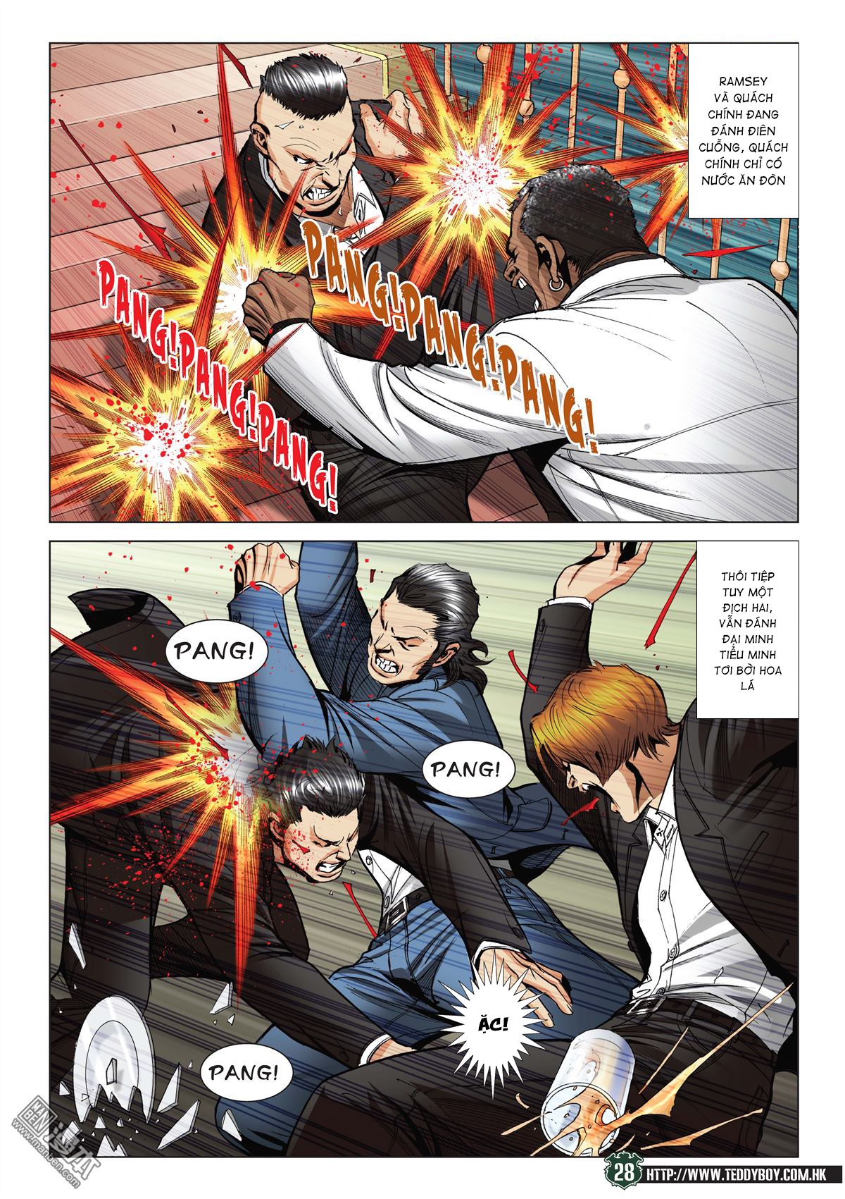 Người Trong Giang Hồ RAW chap 2070 - Trang 27